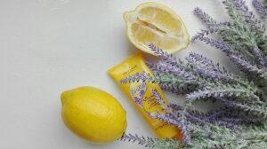 zitrone und lavendel